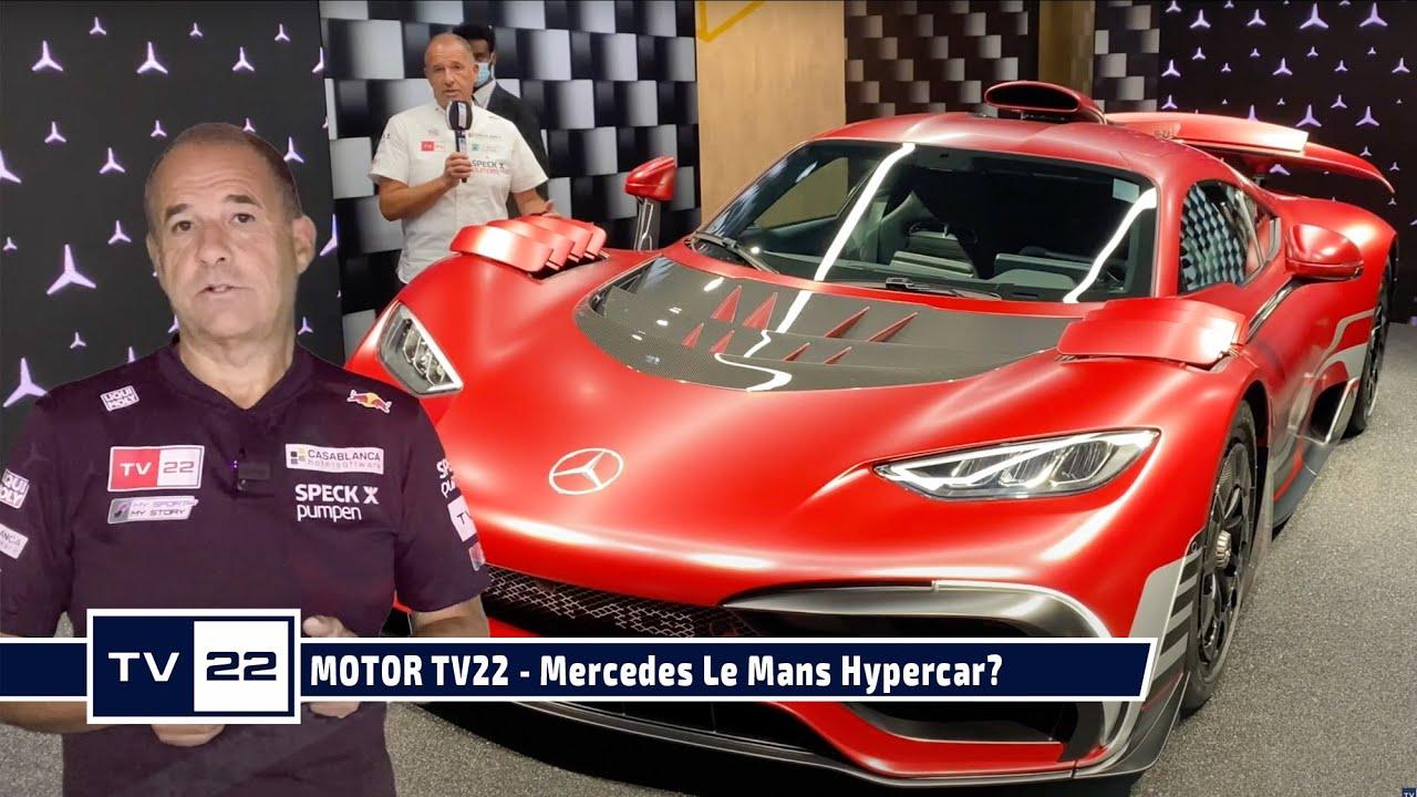Das neue Mercedes Le Mans Hypercar? Direkt von der IAA Mobility in München 2021 - MOTOR TV22