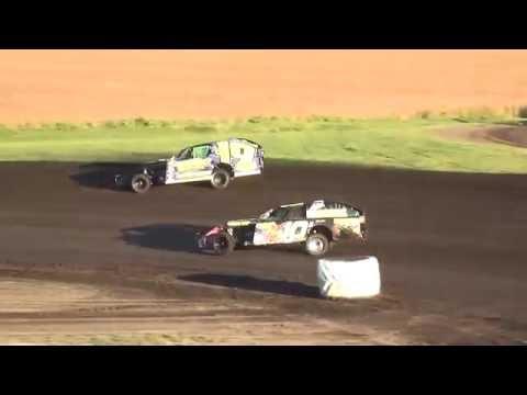 IMCA Modified Heats Benton County Speedway 9/18/16