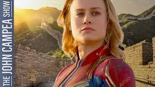 Captain Marvel Tracking For Massive Opening In China - The John Campea Show