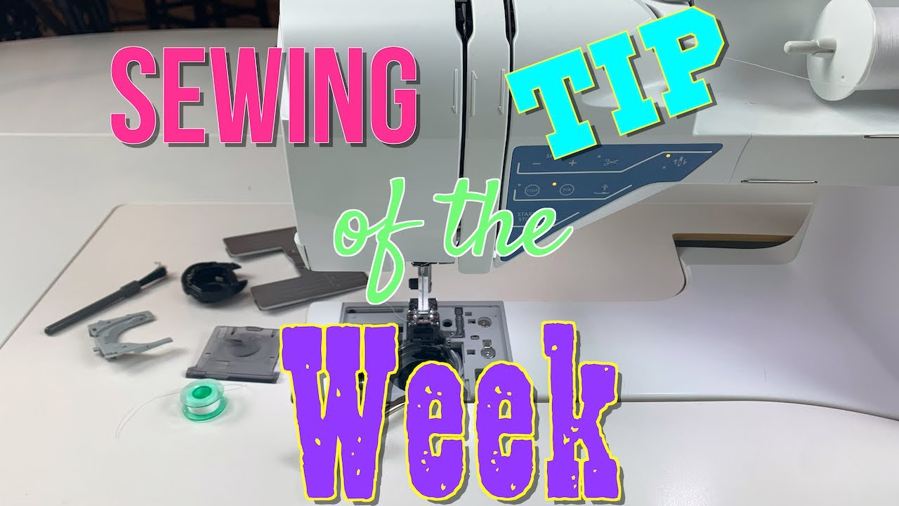 Sewing Tip of the Week | Episode 11 | The Sewing Room Channel