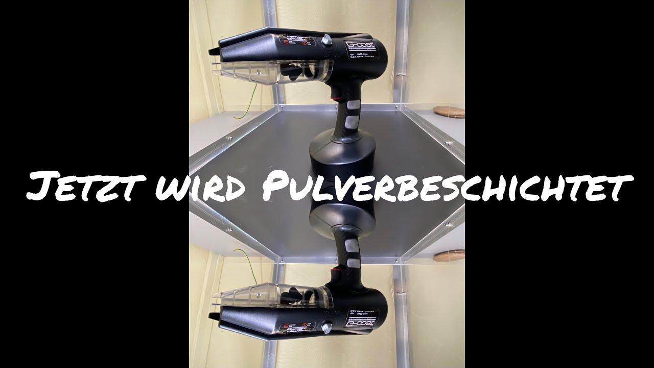 G-coat® Pulverbeschichtungssystem Pulverpistole Pulverbeschichten