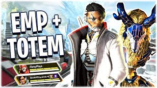 A New Duo Strategy - The Totem EMP Push!! (Apex Legends PS4)