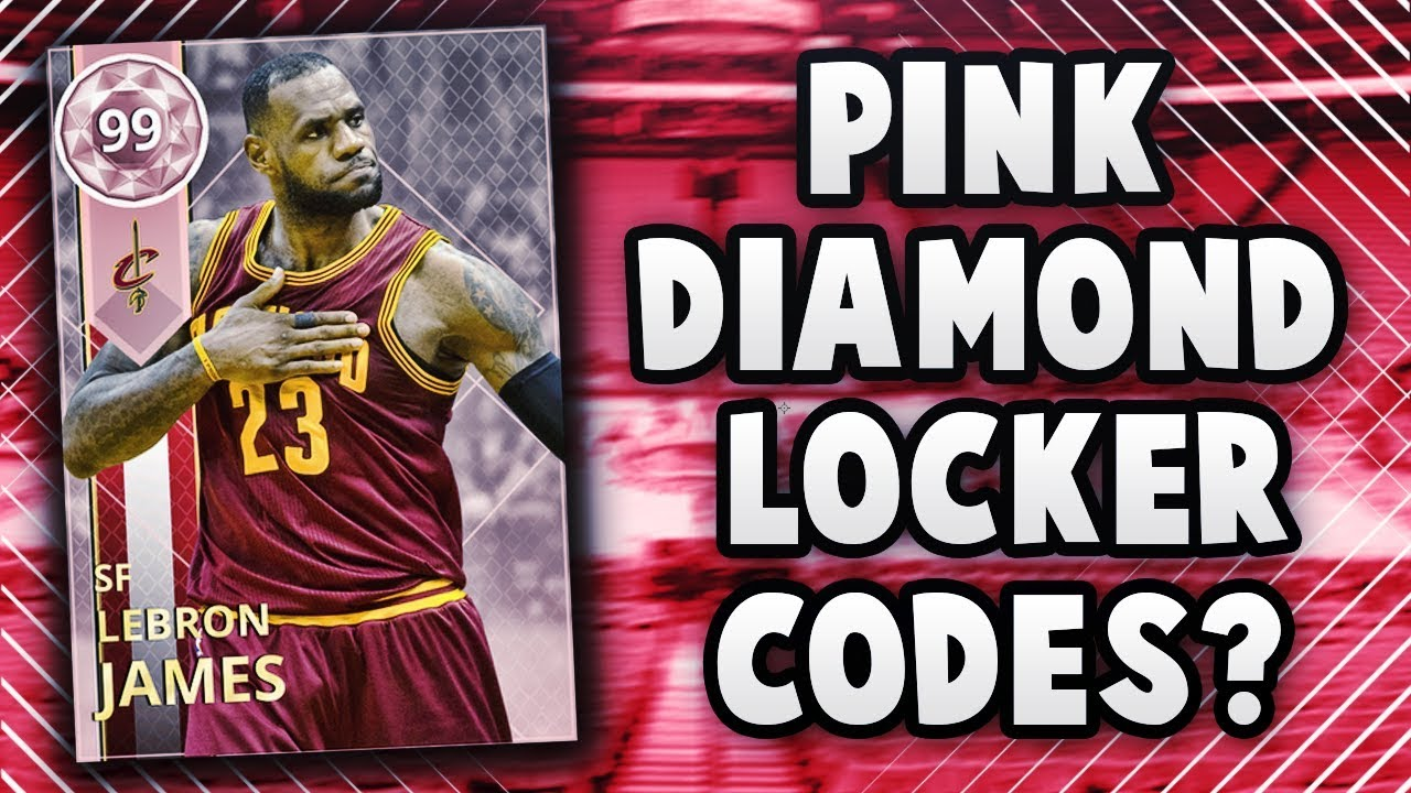 fd6e148292ad5 NBA 2K18 MyTEAM 99 OVERALL PINK DIAMOND LOCKER CODE COMING TONIGHT!  (NOT  HAPPENING)
