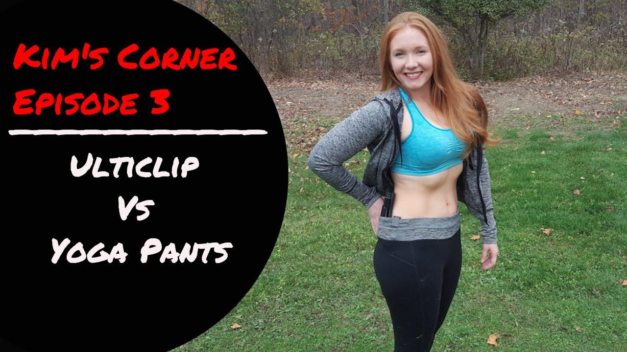 Kims Corner Episode  Ulticlip Vs Yoga Pants Geauga Firearms Academy Youtube