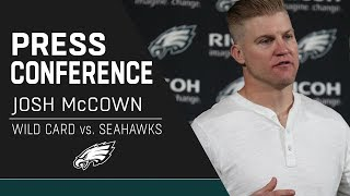 """Josh McCown: """"I Left it All Out There"""" 