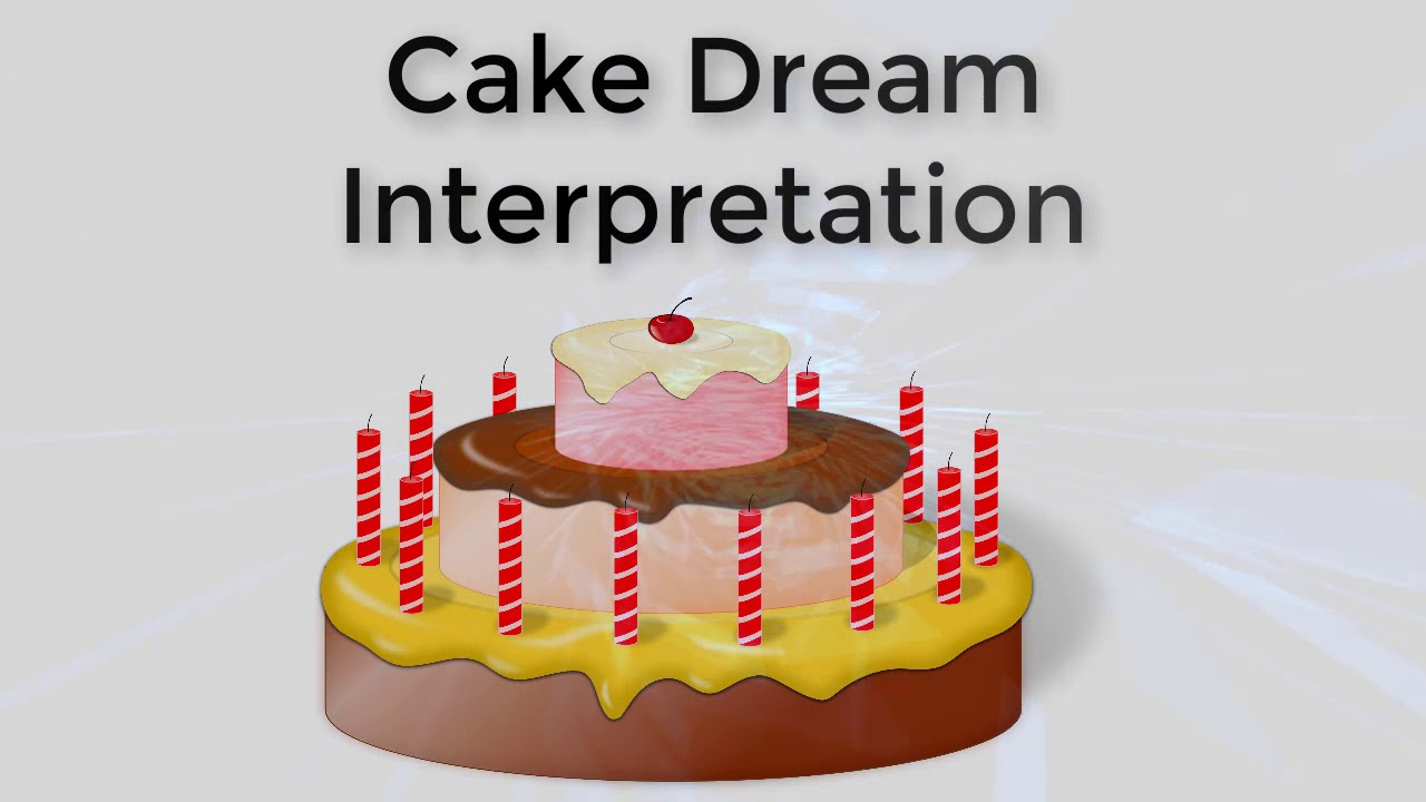 What does the cake dream about
