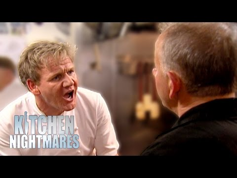 Kitchen Nightmares Gordon Throws Up