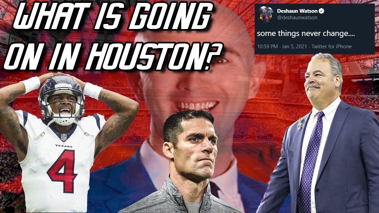 New Texans GM Nick Caserio: Deshaun Watson is our quarterback