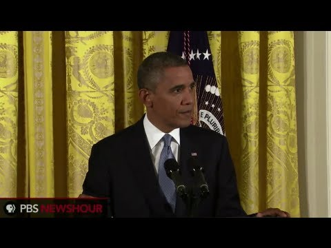President Obama Comments on Security Scandal, Fiscal Cliff, and Defends Susan Rice