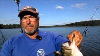 september 2015 bass fishing at marsh creek lake