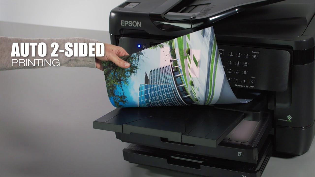 Take a tour of Epson's latest WorkForce Wide-Format Printers