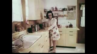 Bizarre 1960's Jubilee Kitchen Wax Advertisement Video