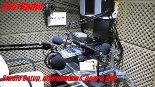 Podcast studio online radio station tour (update english)