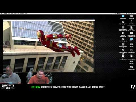 creativity 360 day 2 with terry white corey barker photoshop compositing youtube