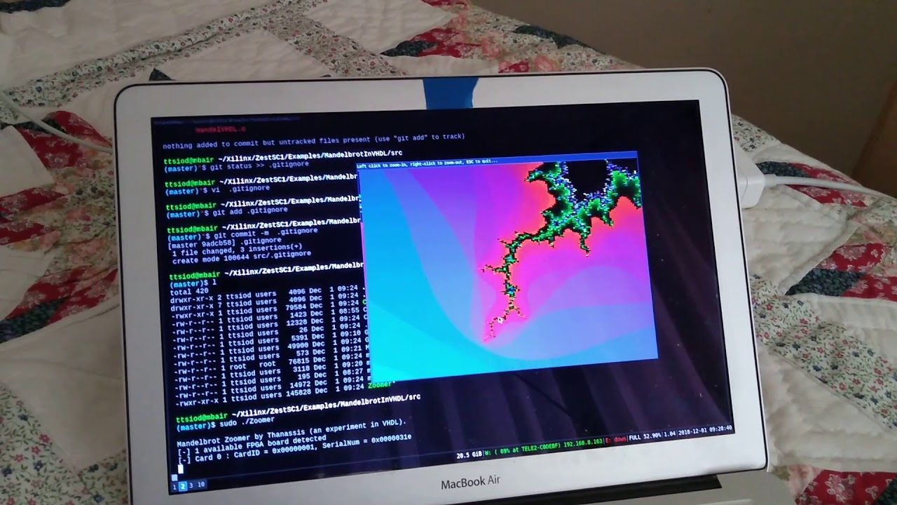 FPGA Used VHDL For Fractals | Hackaday