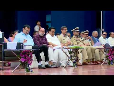 Exotic web Media: police abhivadan samaroh at sanjeevkumar hall surat 12 April 2018