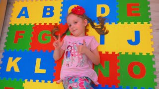 ABC Song | English Alphabet for children | Learning Songs by Lisa Kids Show