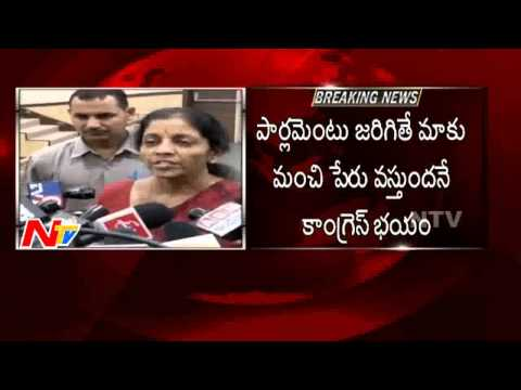 Nirmala Sitharaman Sensational Comments on Special Status for AP