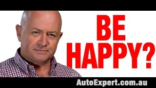 Can a New Car Make Me Happy? | Auto Expert John Cadogan | Australia