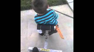 AMC arthrogryposis walker made by daddy