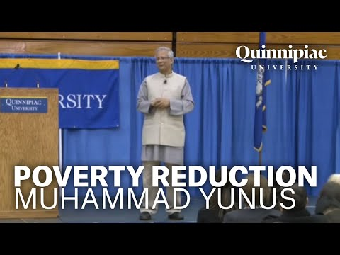"""""""Microcredit and Social Business for Poverty Reduction"""" presented by Muhammad Yunus"""