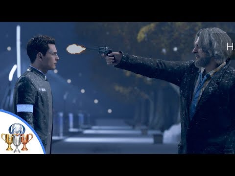 Detroit Become Human - Hank Kills Connor - Just a Machine Trophy Guide