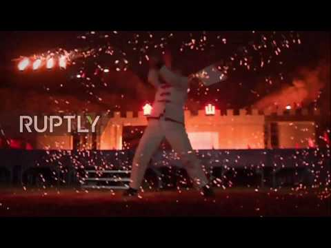 Folk artists play with fire as Taiyuan celebrates Lantern Festival