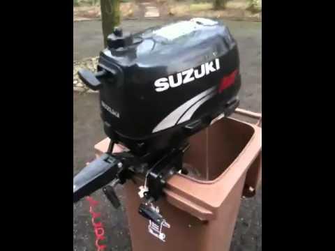 Suzuki 4hp outboard engine for sale on eBay - YouTube