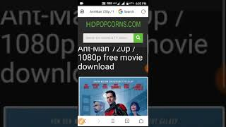 Download Ant man in english in 720p and 1080p