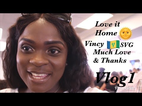 ❤Traveling back home to St. Vincent & the Grenadines | Vincy Vlogger | (SVG Vlog 1)❤