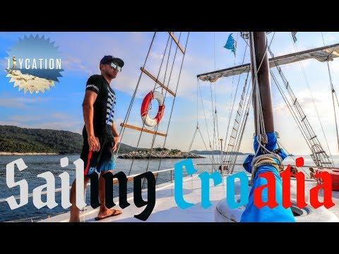 SAILING THE ADRIATIC SEA | DUBROVNIK TO MLJET CROATIA