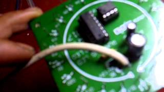 Running led ic NE555 dengan CD4017B