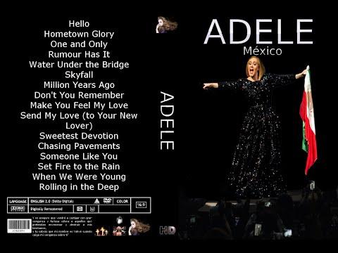 Adele Set Fire to the Rain Mexico 2016