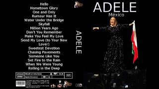 Adele Set Fire to the Rain Mexico 2016