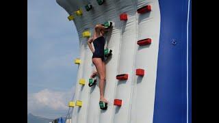 Water Toys at Monaco Yacht Show - CLIMBING WALL