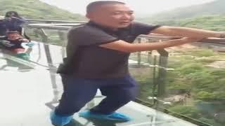 Самый длинный стеклянный мост в мире 2018