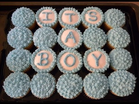 How To Baby Shower Cupcake Cake Youtube