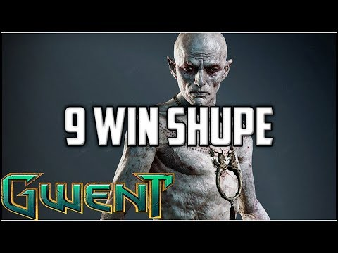Gwent 9 Win Shupe & Unseen Elder ~ Gwent Arena Mode Gameplay Part 5