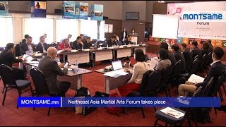 Northeast Asia Martial Arts Forum takes place