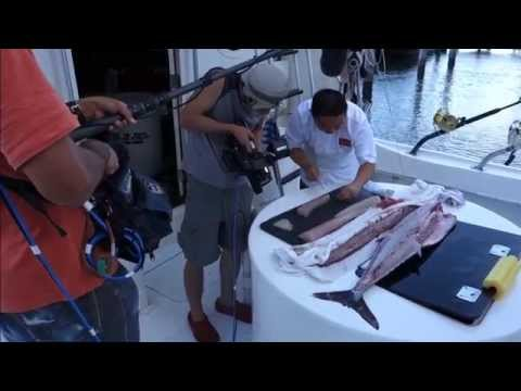 Fresh Sashimi Off A Fishing Boat - How To Make Sushi Series