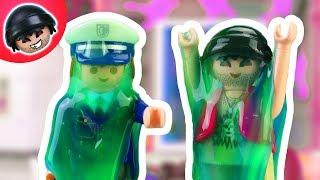 KARLCHEN KNACK - Schleim Angriff auf die Polizei Station - Playmobil Polizei Film #2