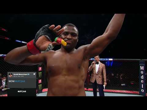 UFC 249: Francis Ngannou Octagon Interview