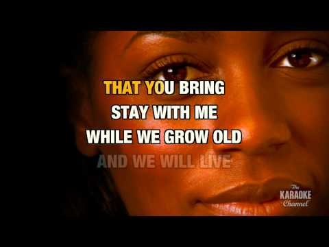 "Lovin' You in the Style of ""Minnie Ripperton"" with lyrics (no lead vocal)"