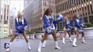 Dallas Cowboys Cheerleaders shake it for fitness