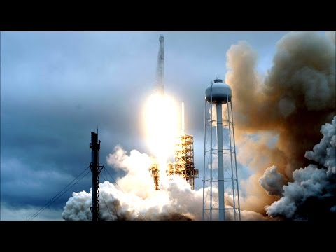 NASA Launches 66 Cargo Craft to the ISS Soyuz-U Rocket R-7 Russia
