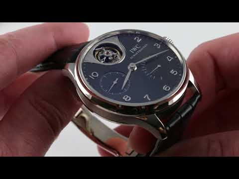 Pre-Owned IWC Portuguese Tourbillon Mystere Limited Edition IW5042-07 Luxury Watch Review
