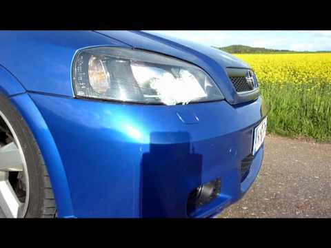 Opel Astra G Coupe --- OPC2-Stoßstange automatische SWRA nachgerüstet