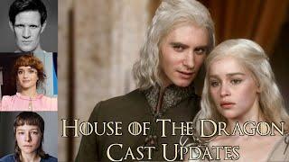 House of The Dragon Cast Update (Daemon Targaryen, Rhaernya Targaryen, Alicent Hightower Castings)