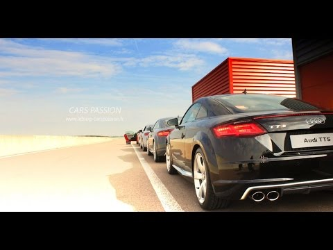 Audi driving experience 2015 - Test TTS, RS3, RS7 and R8