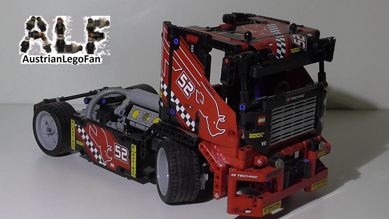 lego technic 42041 race truck lego speed build review. Black Bedroom Furniture Sets. Home Design Ideas
